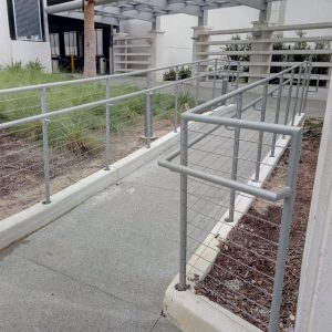 Southeastern Seating cable handrail for sale and installation