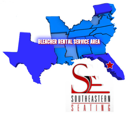 Southeastern seating delivery and installation map